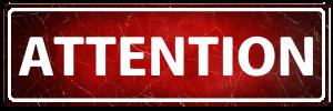 peringatan, papan warna merah berisi peringatan