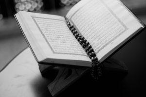 the holy quran, tasbih, meja