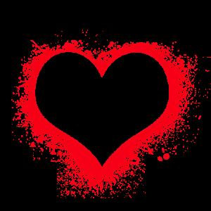 hati, merah