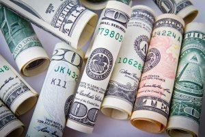 uang, dollar