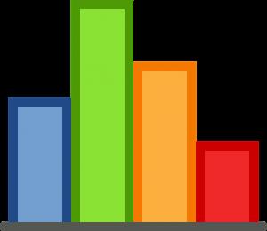 diagram batang, warna-warni