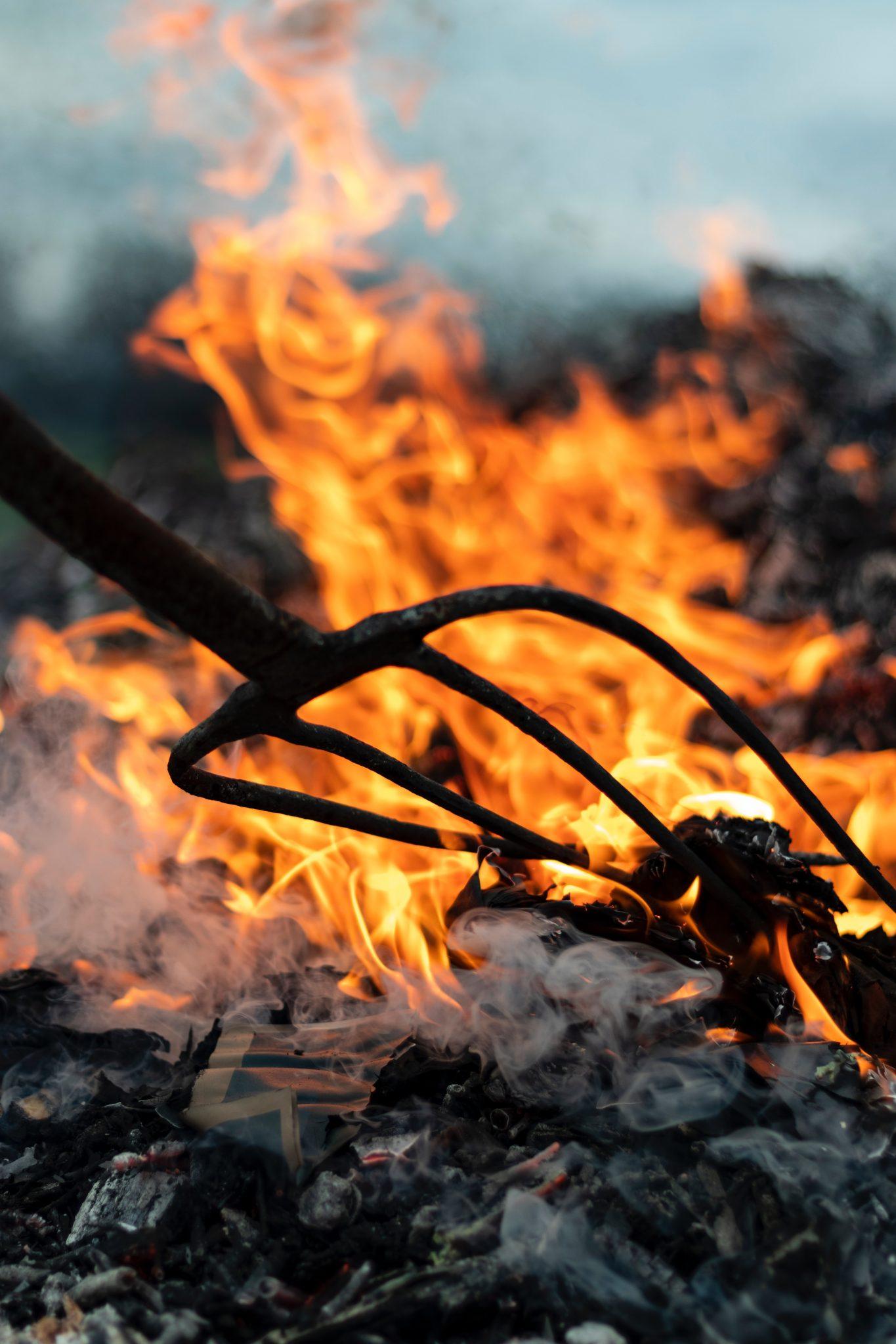devil, api, takut,