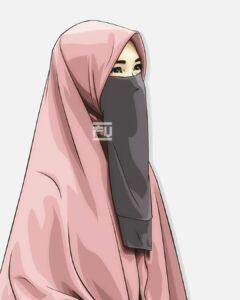 gambar kartun muslimah bercadar, gambar kartun muslimah imut, gambar kartun muslimah berhijab, gambar kartun muslimah keren, gambar kartun muslimah millenial