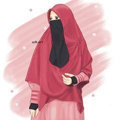 Gambar Kartun Muslimah Gambar Kartun Berhijab Gambar Kartun Imut